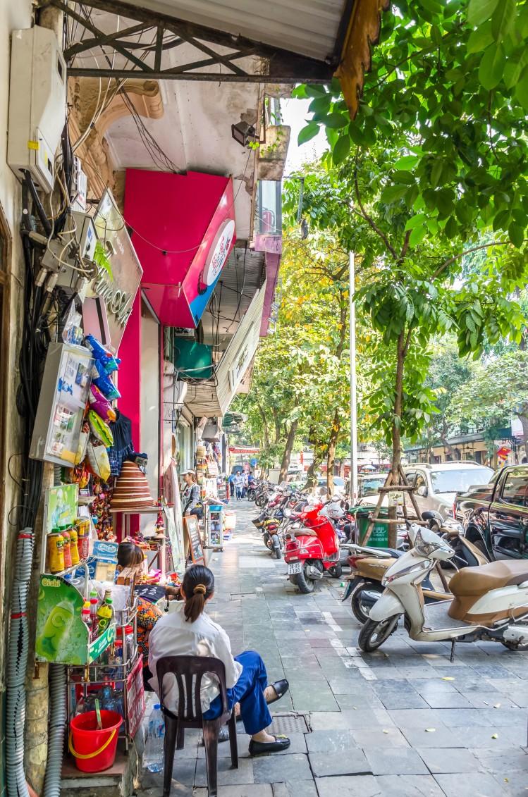 hanoi vietnam rue