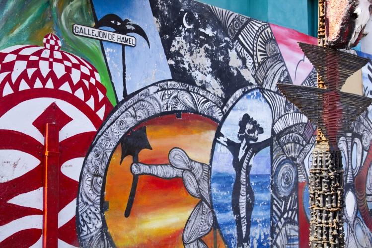 street art cuba la havane callejon de hamel