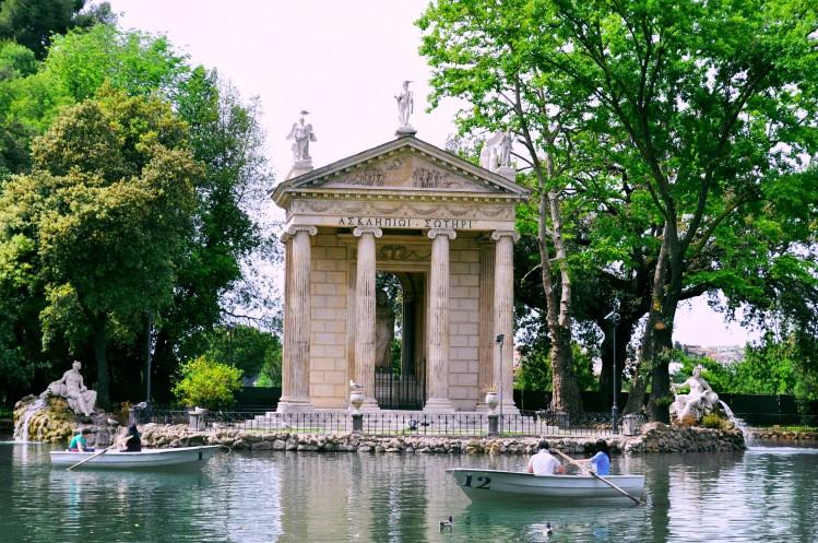 Villa Borghese Rome parc