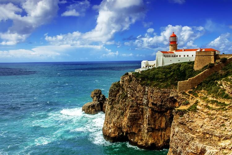 Portugal panorama mer cabo de Sao Vicente