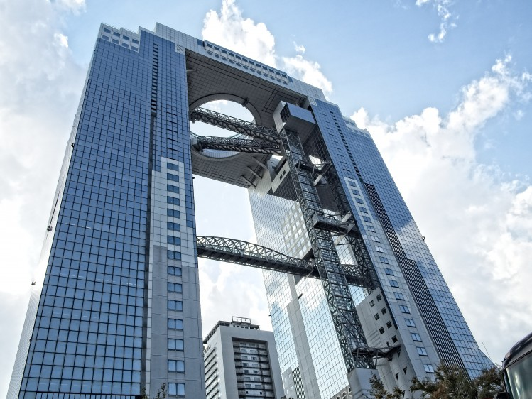 gratuit japon visite immeuble umeda sky building