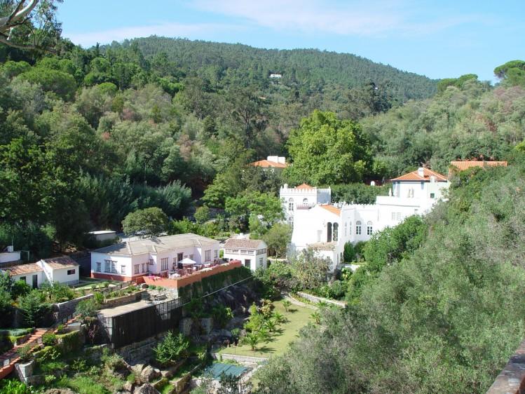 Portugal village caldas de monchique