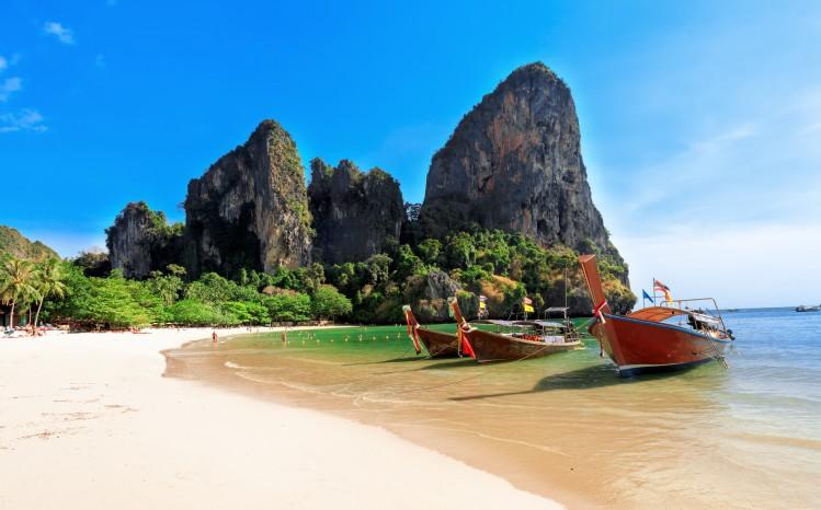 plage thailande été vacances