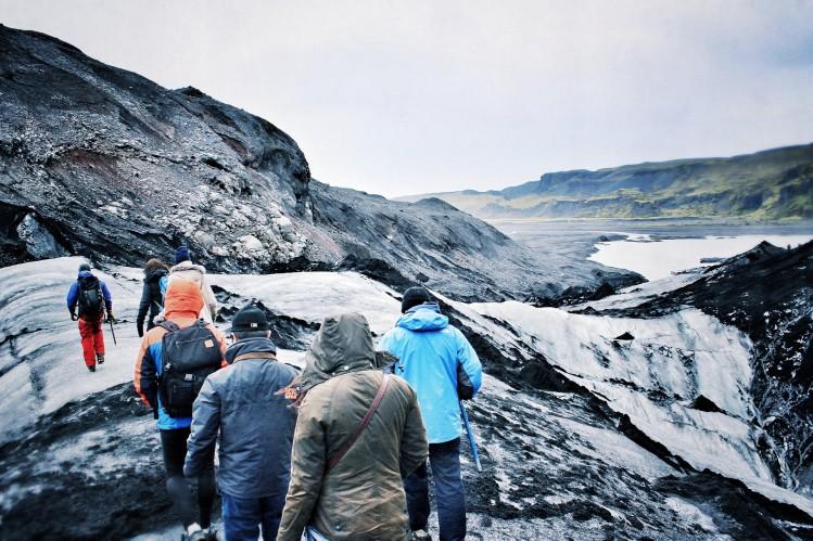 randonnée glacier islande road trip