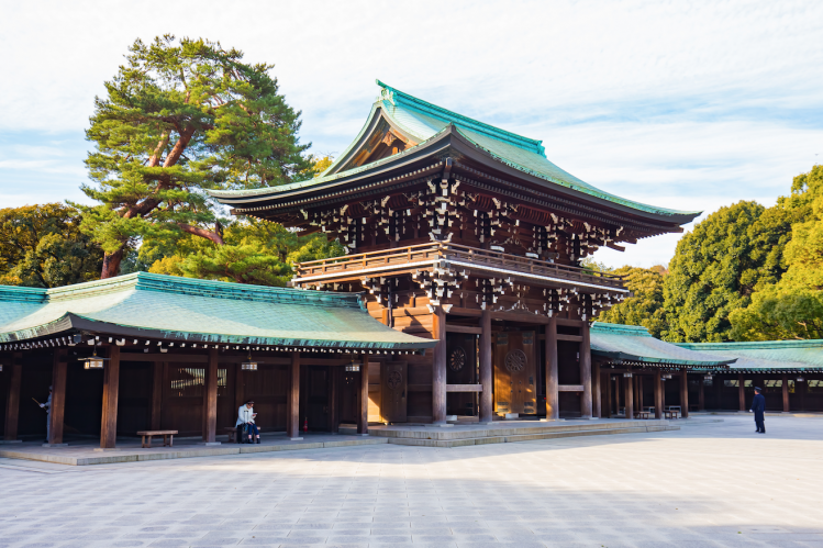 tokyo temple japon gratuit parc