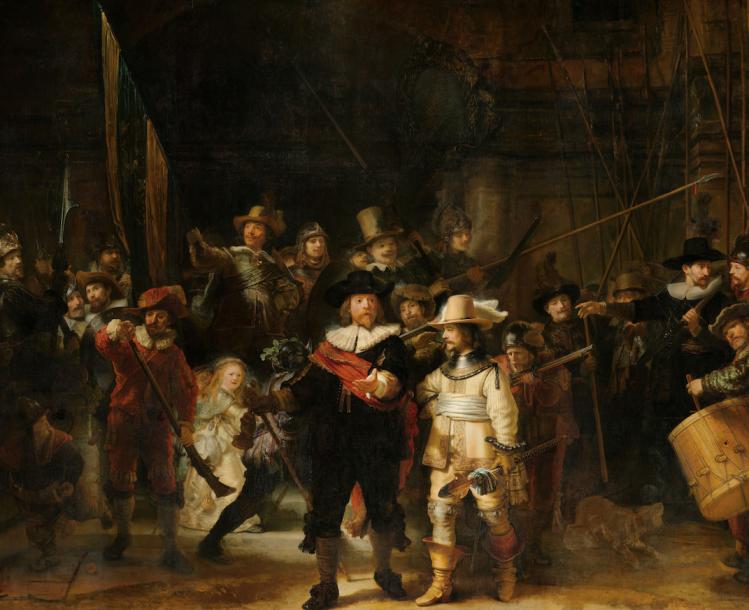 Rijksmuseum Amsterdam tableau rembrandt