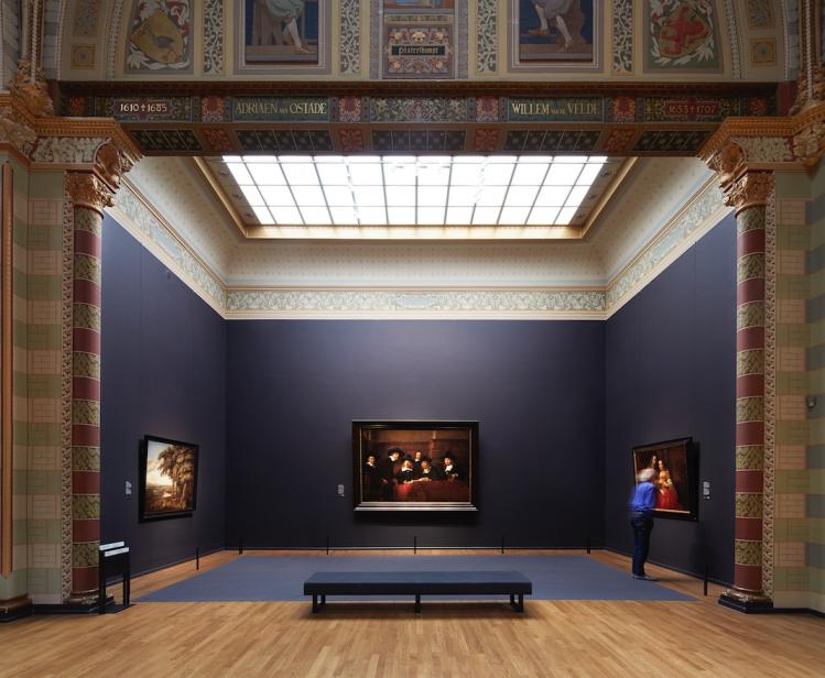 Amsterdam visite Rijksmuseum galerie d honneur