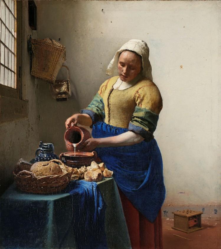 amsterdam tableau vermeer la laitiere rijksmuseum