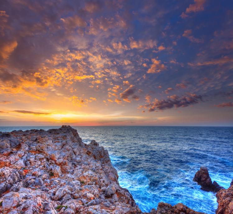 punta nati minorque baleares insolite panorama mer coucher de soleil