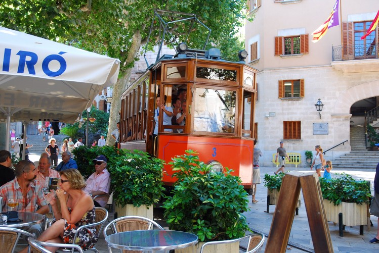 baleares incontournables soller train vintage