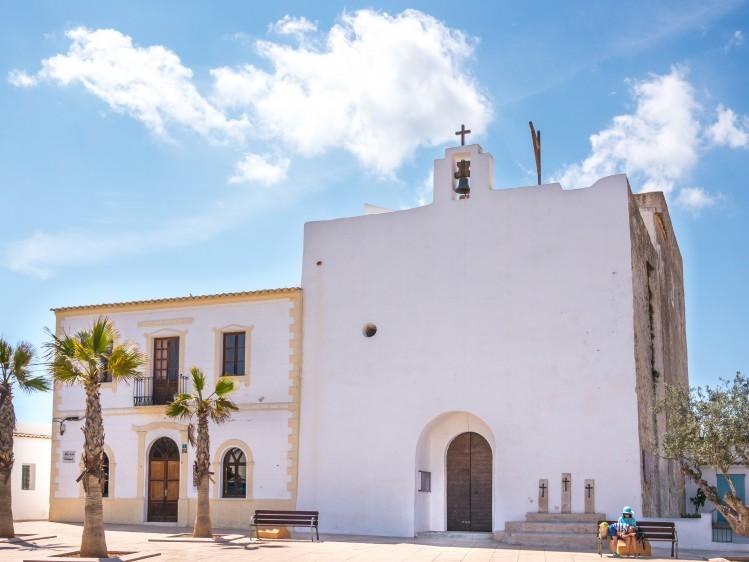 baleares formentera eglise Sant Francesc Xavier insolite