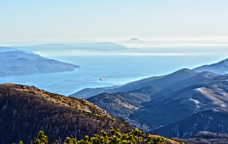 croatie montagne randonnees panorama