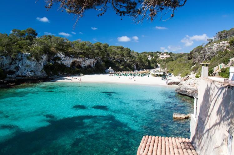 baleares majorque plage top cala varques baignade