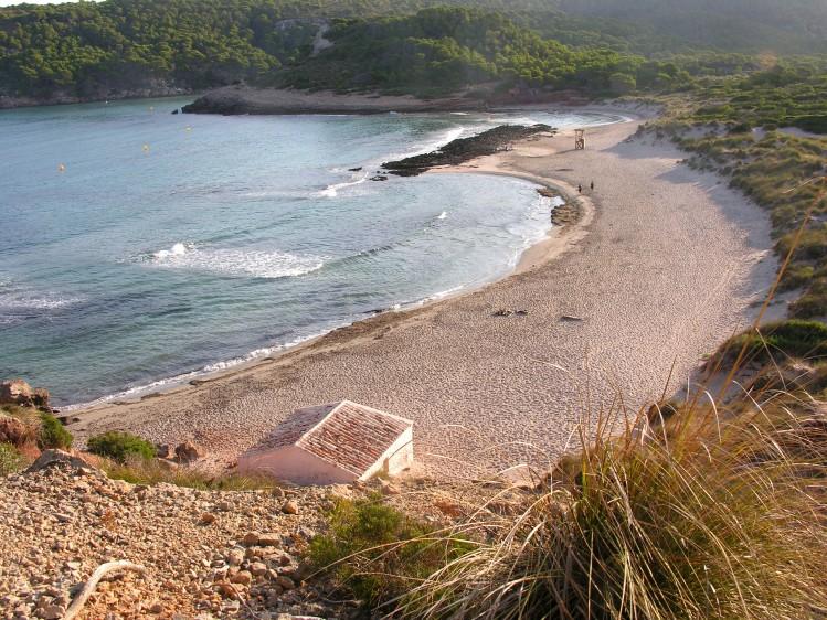 plage baleares minorque crique