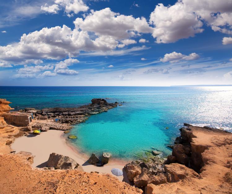 plage baleares itineraire crique insolite
