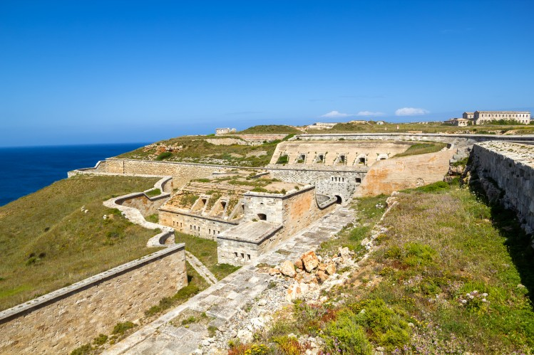 baleares itineraire circuit minorque forteresse