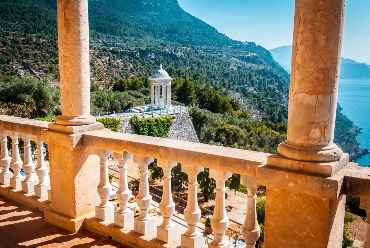 baleares majorque monastere vue itineraire
