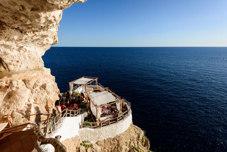 baleares itineraire carte circuit minorque balcon vue sur mer