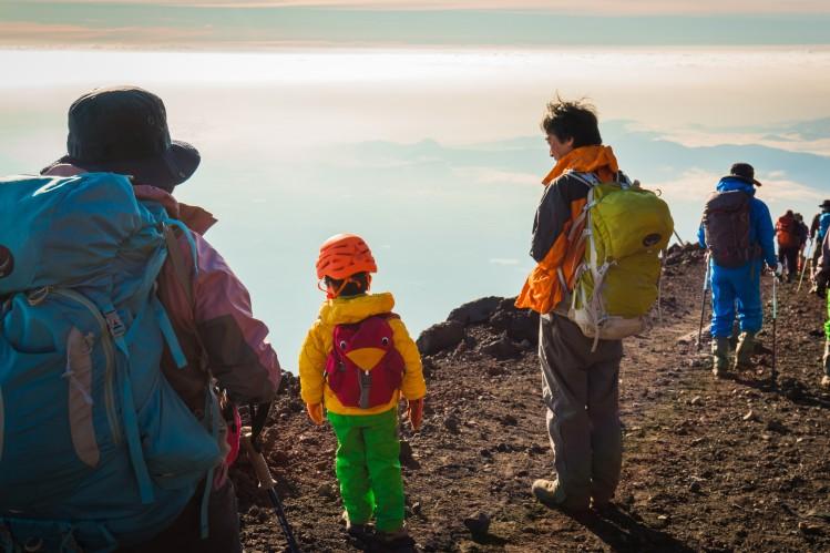 mont fuji japon aventure enfant