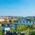Vue sur Prague, depuis Letna Park