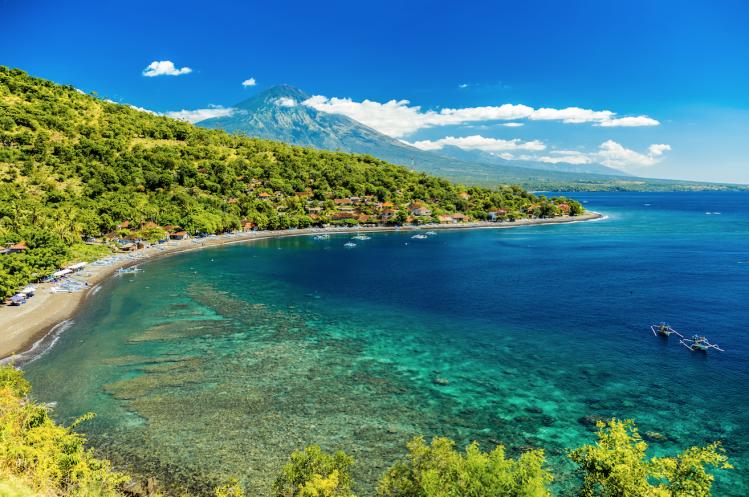 Bali Amed plongee plage