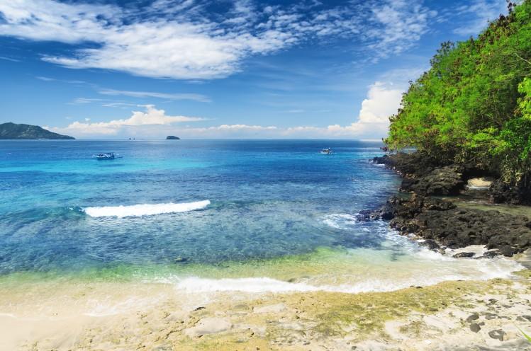 Padangbai Bali plage plongee