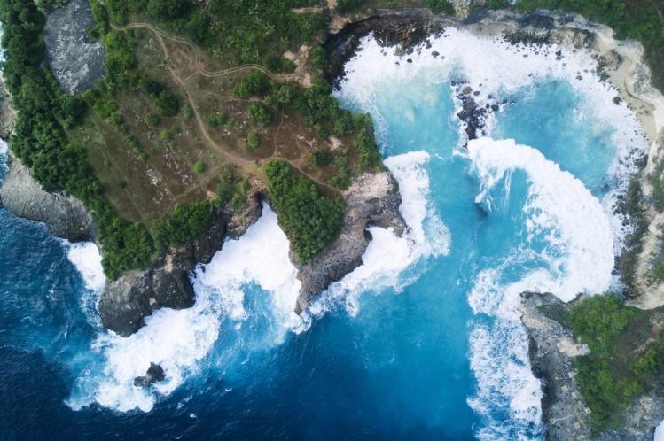 Bali Lombok plage surf Nusa Ceningan