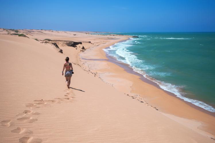 dunes de Taroa Colombie plages