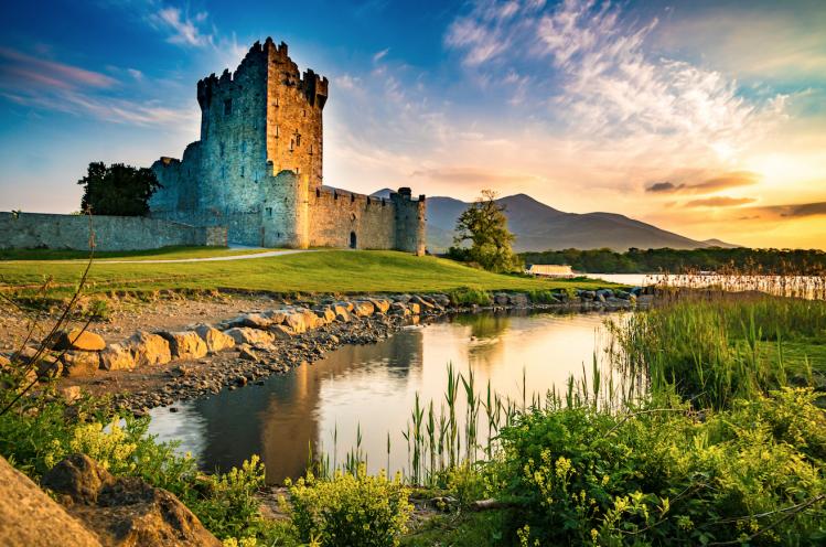 Ross Castle Irlande