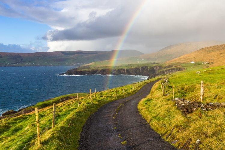 Irlande route arc en ciel