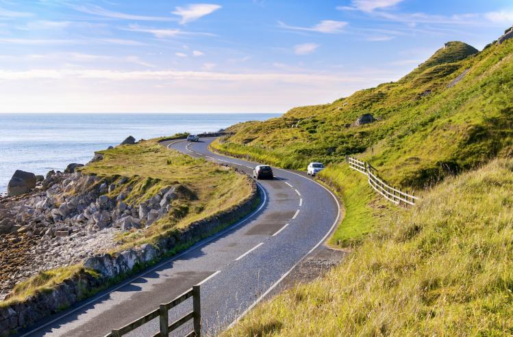 Irlande route Antrim Coastal road