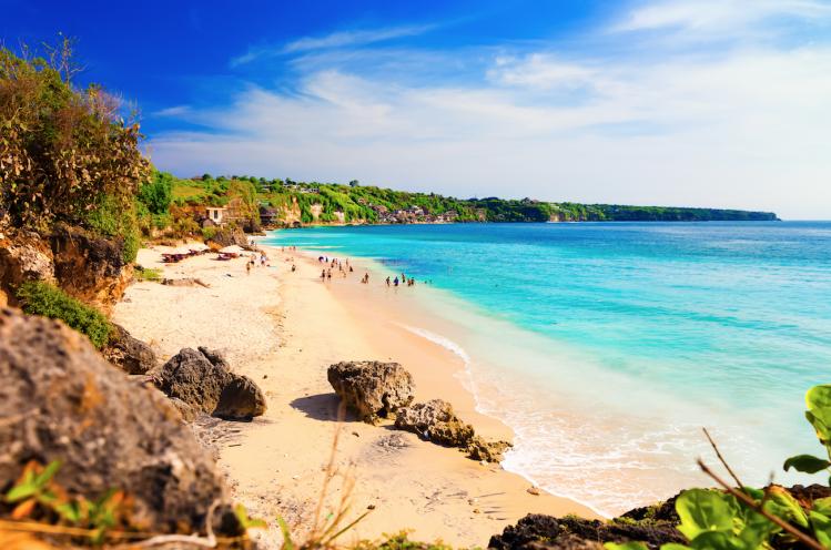 Bali plage de Kuta surf