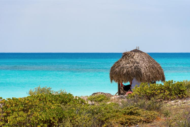 Cuba cayo largo logement plage