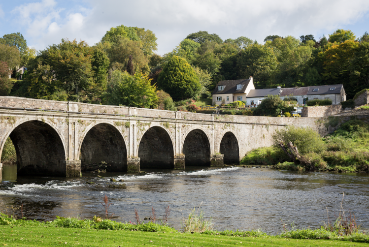 village irlande tops pont Inistioge