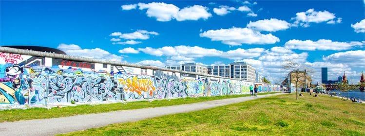 Les vestiges de Berlin-Est