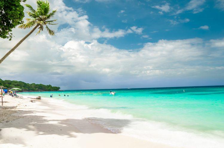 Playa Blanca Colombie plages