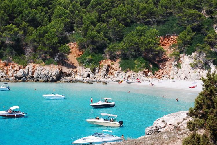 Cala Escorxada Minorque plages