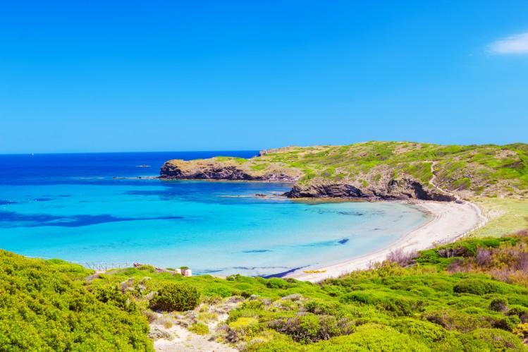 Cala Tortuga Minorque plages