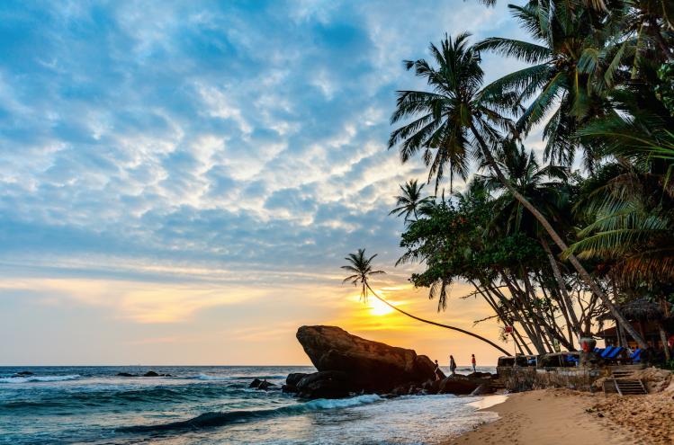 Dalawella Sri Lanka plages