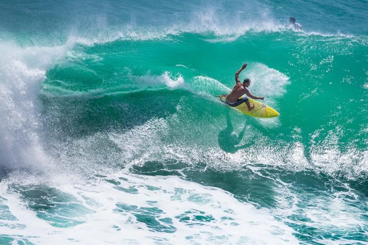 Bali Padang Padang surf plage