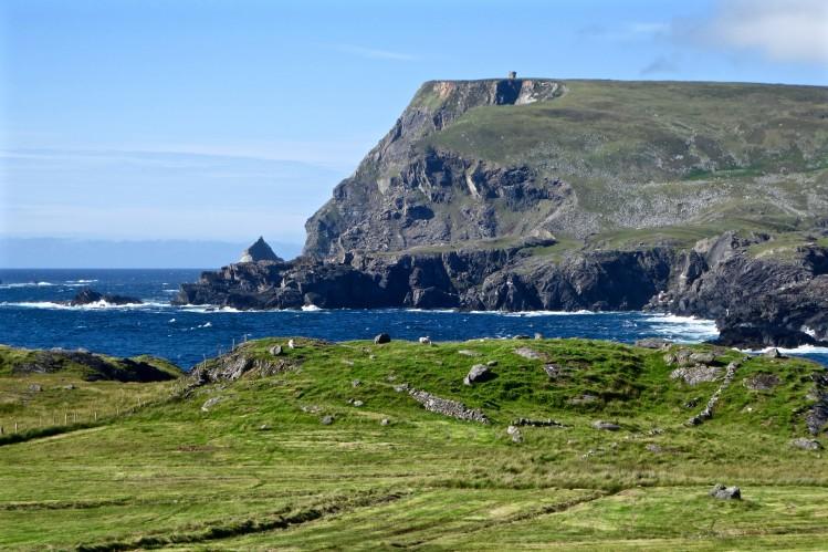 irlande villages tops falaises glencolmcille