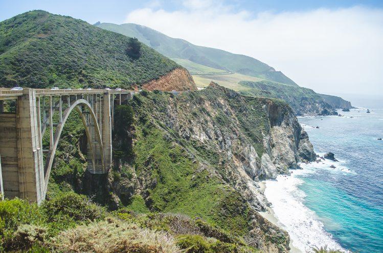 bixby creek bridge californie