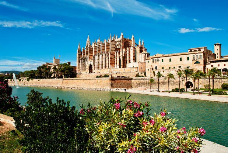 palma cathédrale village baléares