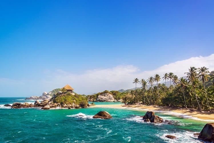 tayrona plage Colombie randonnée