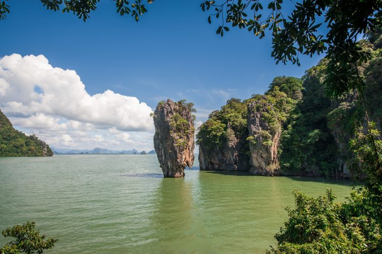 thailande khao phing kan james bond tournage
