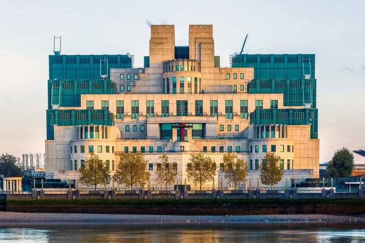 MI6 Londres James Bond tournage