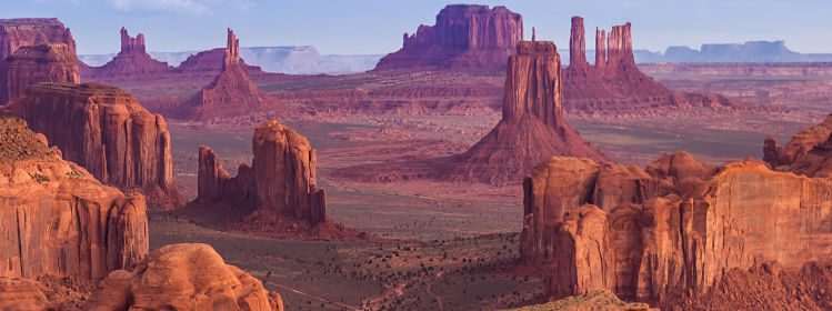 monument valley ouest américain
