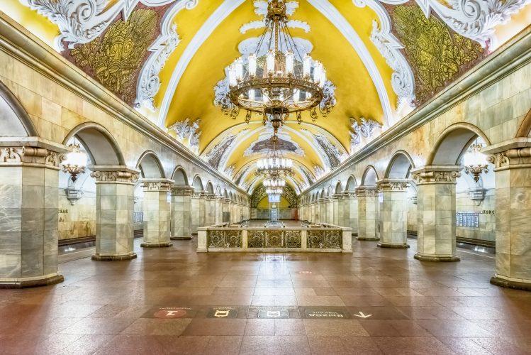 Métro moscovite, incontournable de Moscou