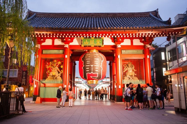 Le temple de Senso-ji