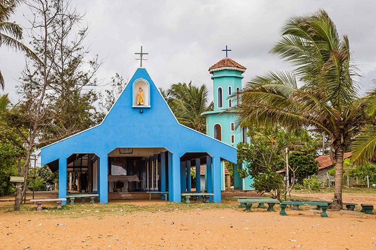 égalise catholique Negombo Sri Lanka